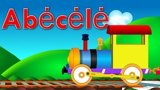ABĖČĖLĖ su traukiniu | Animuota lietuviška abėcėlė | Lietuviškos vaikiškos dainelės