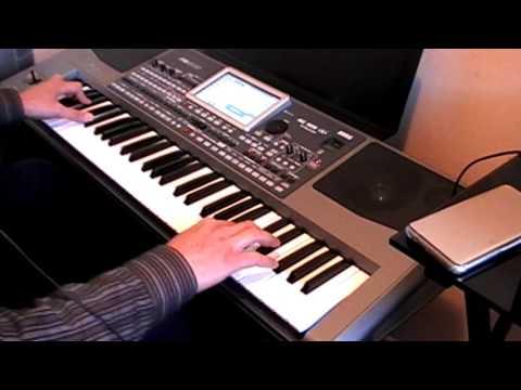 chand sifarish-Fanaa-Instrumental on keyboard