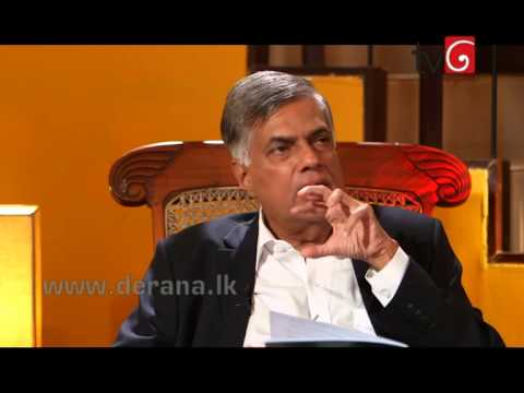 360 with Prime Minister Ranil Wickramasinghe - 11th August 2015