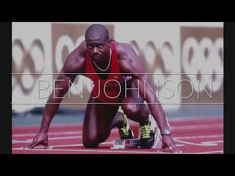 Ben Johnson Olympic final 1988