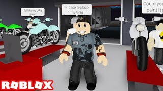 Roblox / Welcome To Bloxburg Episode #1 / MY FIRST JOB AS A MECHANIC
