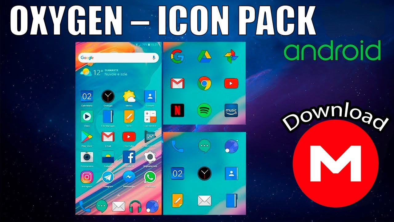 OXYGEN – ICON PACK v10 7 | APK | Android Icon Pack | 2019