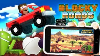 Dica de Jogo Blocky Roads ANDROID / iOS análise + Gameplay + DOWNLOAD