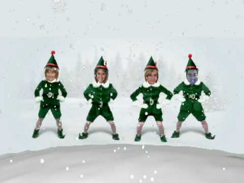 Merry Christmas.......Dancing Elves - YouTube