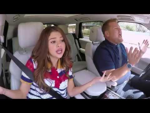 Selena Gomez Kill em With Kindness Carpool Karaoke.