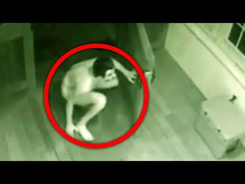Top 10 Scariest Things CAUGHT ON SURVEILLANCE CAMERAS!