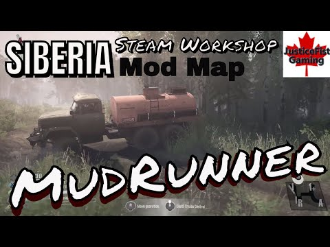 MudRunner Mod Gameplay | Siberia Map Mod | Part 1