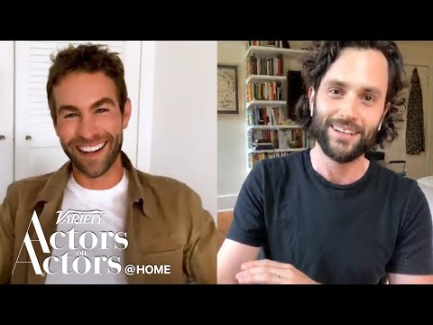 Chace Crawford & Penn Badgley - Actors on Actors - Full Conv