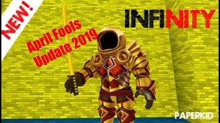 Roblox Infinity RPG April Fools Update 2019 (il codice non funziona più)