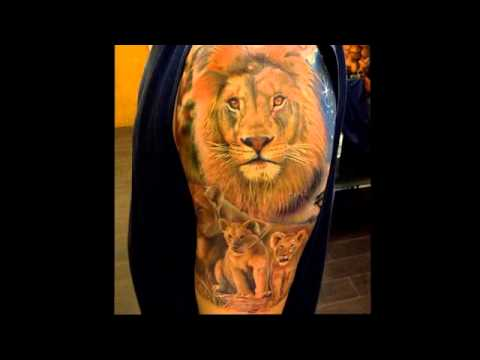 Lion Tattoos for Men 2018