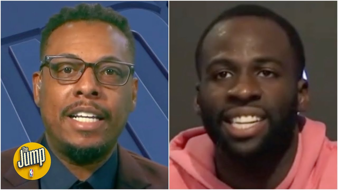 The Jump reacts to Draymond Green's comments on the NBA's double standard for players