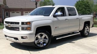 2015 Chevrolet Silverado 1500 (6.2L/8spd) Z71 LTZ Crew Start Up, Road Test, and In Depth Review