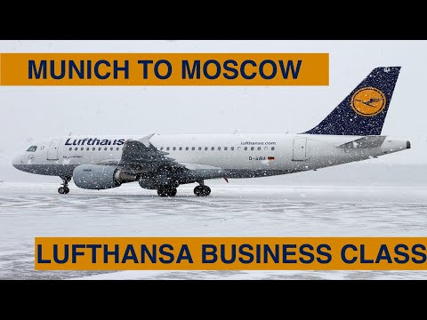 MUNICH TO MOSCOW (DME)   LUFTHANSA - BUSINESS CLASS WITH SENATOR LOUNGE ACCESS   A319   TRIP REPORT