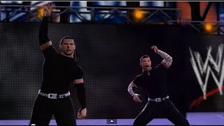 WWE 2K14: The Hardy Boyz vs The Shield - 2 on 3 Handicap Tag Match