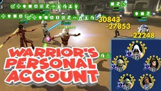 Arena Trials: Revan VS Nightsisters, Triumvirate and Rebels  star wars galaxy of heroes swgoh
