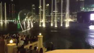 Dubai Dancing Fountain- Hero ( Burj Khalifa Dubai Mall )