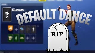 Fortnite Default Dance Getting Removed & Tilted Towers? Fortnite News!