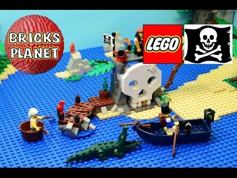 Treasure Island 70411 LEGO Pirates  Stop Motion