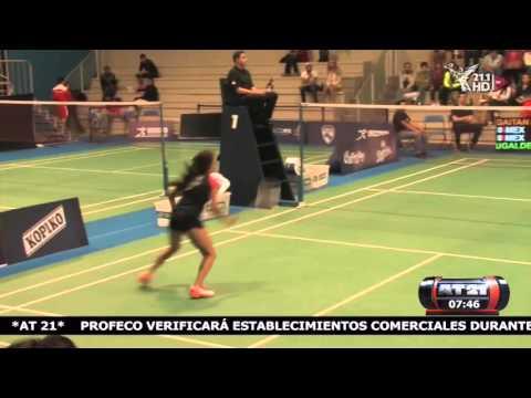 jugador de badminton en ingles