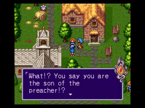 Let's Briefly Play Breath Of Fire 2 - Just To Fish