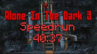 Alone In The Dark 3 / Ghosts In Town Speedrun - 40:37 Former WR