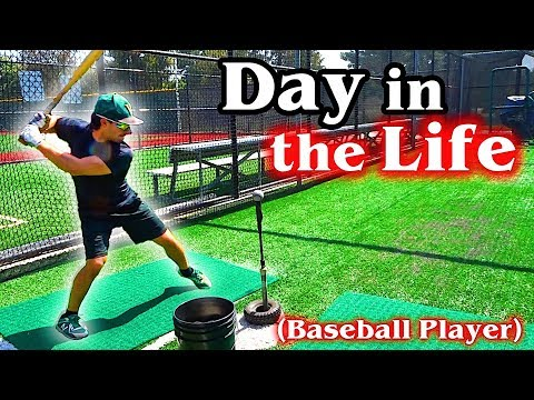 A Day in the Life of a College Athlete: Baseball Player (Ep. 3)