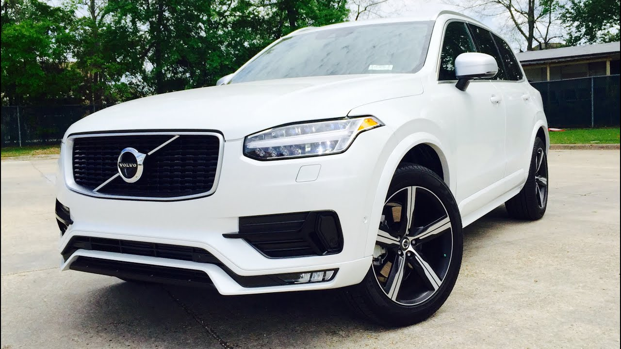 Suv Of The Year 2016 Volvo Xc90 T6 R Design Full Review Exhaust Start Up