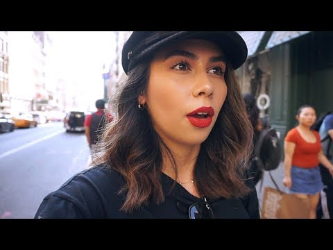 Shopping in SOHO, New Piercings + Avoiding Fashion Week | NYC VLOG