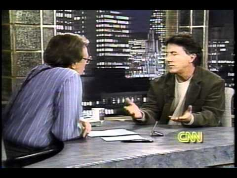 Dustin Hoffman- Larry King Live  1994 Part 1 of 4