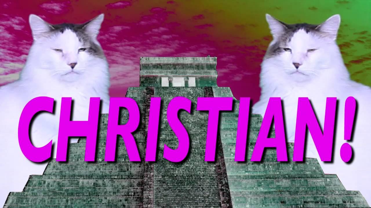 Feliz Cumpleaños Christian Canción Comica De Cumpleaños Youtube