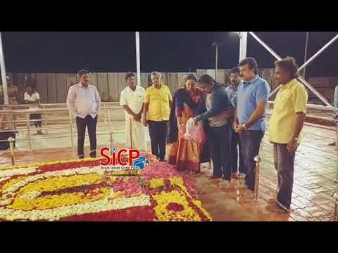 Vijayakanth floral tributes at 'Kalaignar' Memorial | sicp