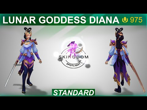 Lunar Goddess Diana Skin Spotlight 2020   SKingdom - League of Legends