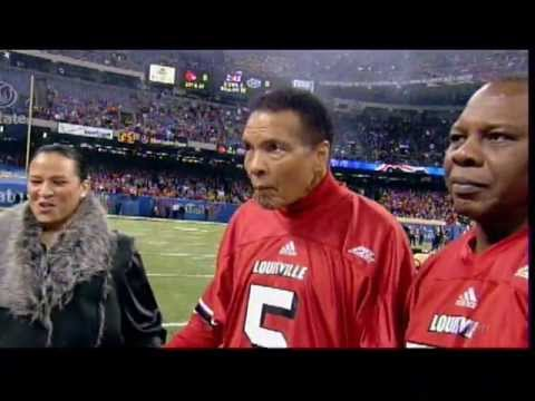 Muhammad Ali at the 2013 Sugar Bowl
