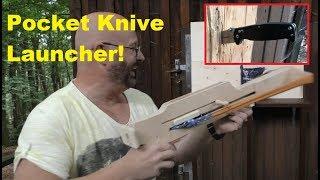 Bolt Action Ballistic Knife Launcher = Unbelievable Review Machine