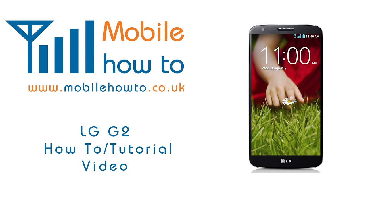 How To Turn On & Off Mobile Data - LG G2