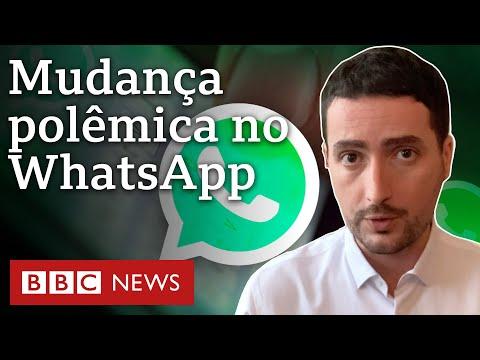 Entenda o que muda nas regras do WhatsApp e por que isso é controverso