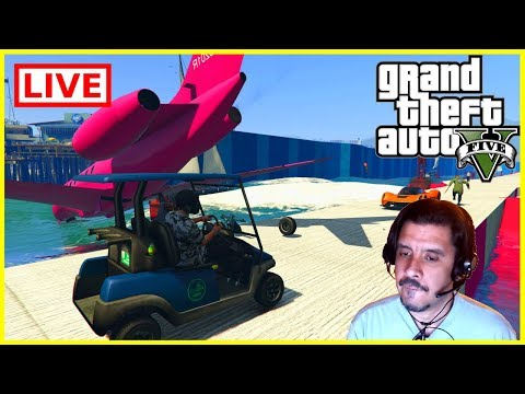 GTA With Viewers - Bacon's Big Ole Fancy Lobby - GTA COME JOIN US!
