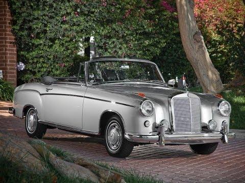 #29. Старые автомобили - Mercedes-Benz 220 SE