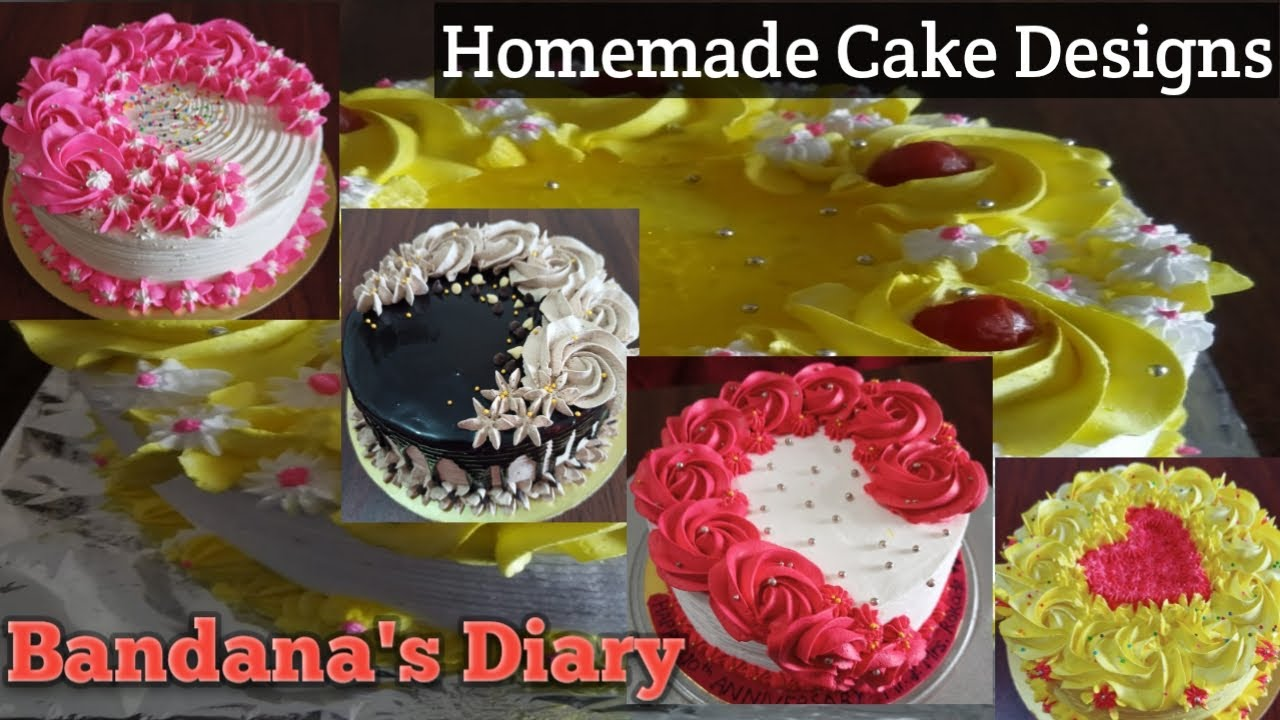 Top 24 Cake Decorating Ideas   Homemade cake Designs in ...