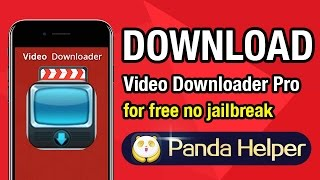 How to download Video Downloader Pro - iBolt Free Video for free on iOS devices without jailbreak