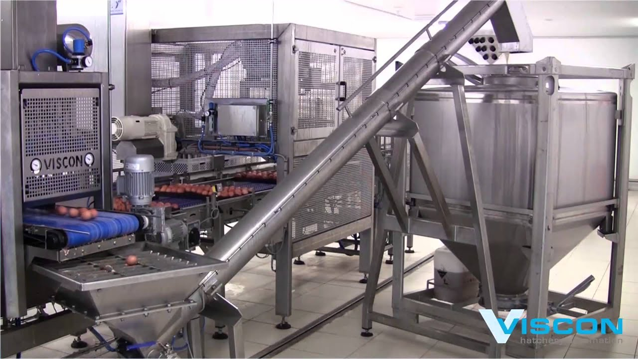 Viscon Hatchery Automation - Waste handling - YouTube