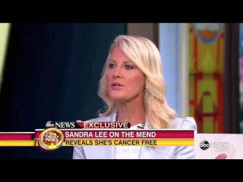 Sandra Lee Reveals She Is Cancer Free ABC News
