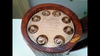 Как же я раньше не додумался до этого! Необычный подарок. #forestlamp #woodworking #подарок