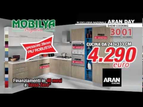 In esclusiva Cucine Aran per Mobilya - domenica