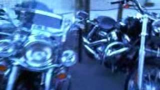 Moto au camping (campéole) de Sanguinet