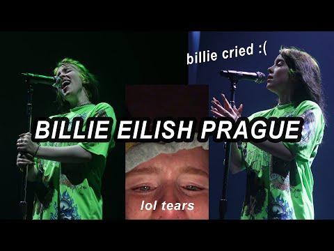 Touring With Billie Eilish | SHOW 10 Prague Czech Republic *billie Cried*