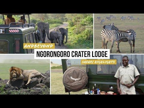 Safari Ngorongoro Crater Lodge: Ngorongoro Krater Tanzania