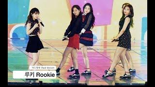 레드벨벳 Red Velvet[4K 직캠]루키 Rookie@Rock Music