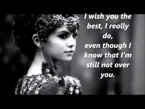 Selena Gomez - Sad Serenade (Lyrics)
