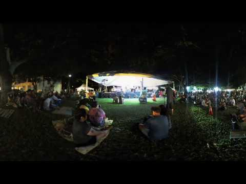 Kalapana at the Mango Jam 2017 Part 1 - a 4K 3D 360° VR (VUZE 3D)
